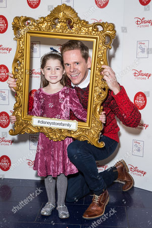 Editorial image of Disney 'From Our Family to Yours' Christmas Party, London, Britain - 03 Nov 2015