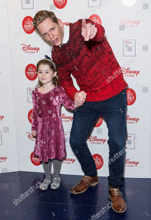 Stock Photo of Lloyd Warbey and child