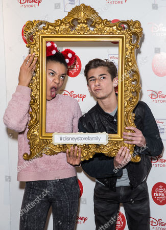 Editorial picture of Disney 'From Our Family to Yours' Christmas Party, London, Britain - 03 Nov 2015