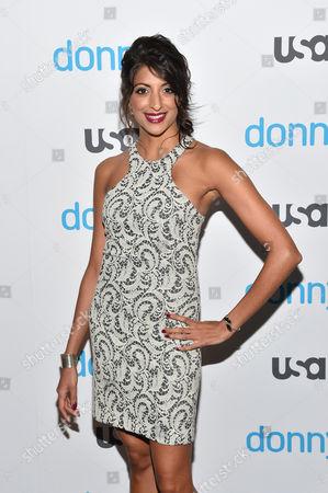 Editorial photo of USA Network 'Donny!' TV series premiere, New York, America - 03 Nov 2015