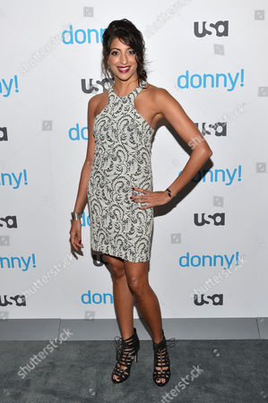 Editorial picture of USA Network 'Donny!' TV series premiere, New York, America - 03 Nov 2015