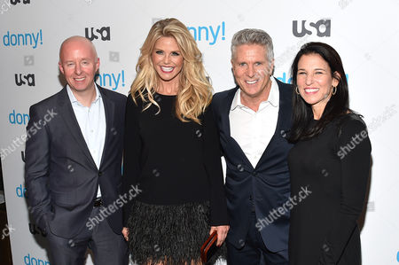 Chris McCumber, Christie Brinkley, Donny Deutsch, Jackie de Crinis
