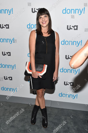 Editorial photo of USA Network 'Donny!' TV series premiere, New York, America - 03 Nov 2015