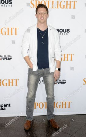 Editorial image of 'Spotlight' film screening, Los Angeles, America - 03 Nov 2015