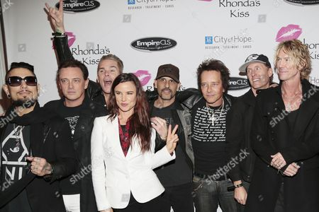 Dave Navarro, Juliette Lewis, Donovan Leitch, Mark McGrath, Duff McKagan, Gilby Clarke, Josh Freese and guests