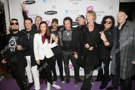 Dave Navarro, Juliette Lewis, Donovan Leitch, Mark McGrath, Dave Kushner, Duff McKagan, Gilby Clarke, Josh Freese and guests