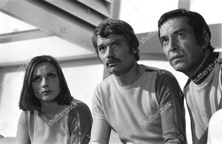 Suzanne Roquette, Prentis Hancock and Martin Landau