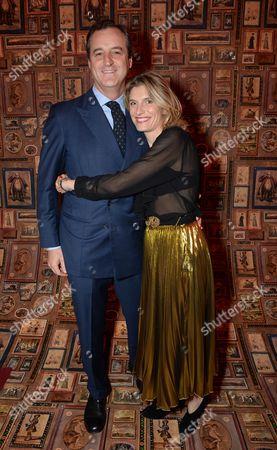 Peter Sartogo and Martina Mondadori Sartogo