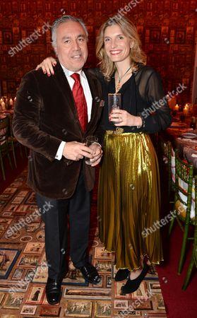 Miguel Flores Viana and Martina Mondadori Sartogo