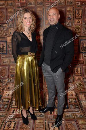 Stock Photo of Martina Mondadori Sartogo and David Rosenblatt