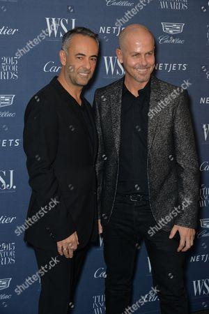 Francisco Costa (L) and Italo Zucchelli