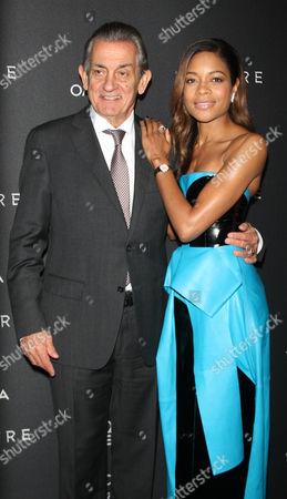 Stephen Urquhart and Naomie Harris