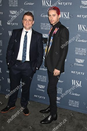 Stewart Butterfield and Jared Leto