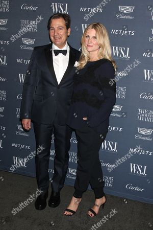 Anthony Cenname, WSJ Magazine Publisher and Kristina O'Neill, WSJ Magazine Editor In Chief