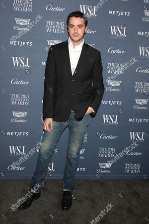 Editorial photo of WSJ Innovator of the Year Awards, New York, America - 04 Nov 2015