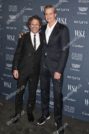 Tom Sachs, American contemporary artist/sculptor and Mark Parker, CEO and President of Nike