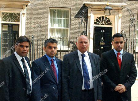 Kahled Mahmood, Sadiq Khan, Mohammed Sarwa and Shahid Malik