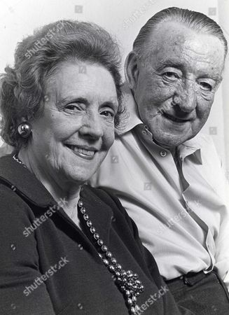 Stock Image of Mabel Myerscough and Wilfred Pickles - 1970's