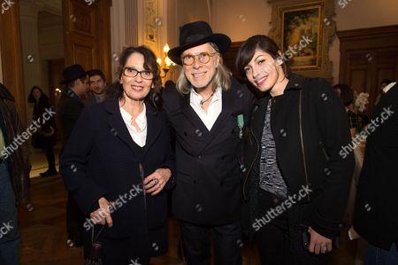Chantal Lauby, Elliott Murphy and Jennifer Ayache