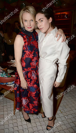 Lorraine Candy and Tallulah Harlech