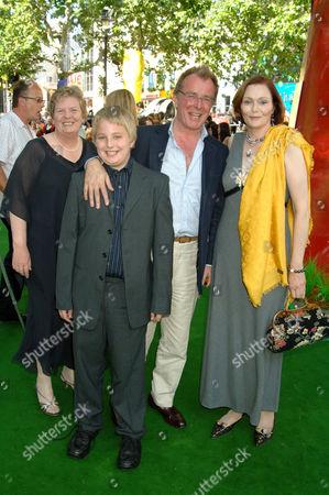 Tessa Dahl and Family