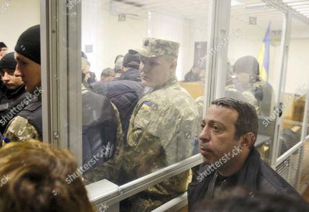 Editorial picture of Hennadiy Korban trial at Pechersk District Court, Kiev, Ukraine - 05 Nov 2015