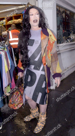 Editorial picture of Pete Burns out and about, London, Britain - 05 Nov 2015
