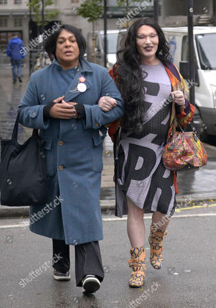 Editorial photo of Pete Burns out and about, London, Britain - 05 Nov 2015