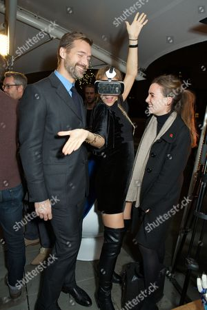 Patrick Grant, Sophie Moss and guest