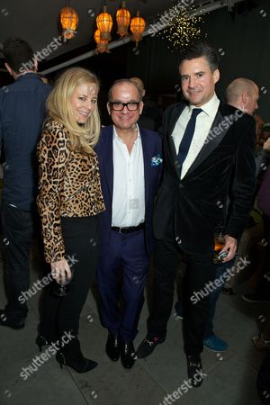Stock Picture of Astrid Harbord, Touker Suleyman and Ed Taylor