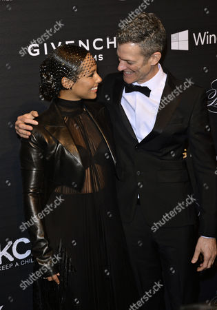 Alicia Keys and Peter Twyman