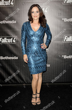 Editorial photo of 'Fallout 4' game launch party, Los Angeles, America - 05 Nov 2015
