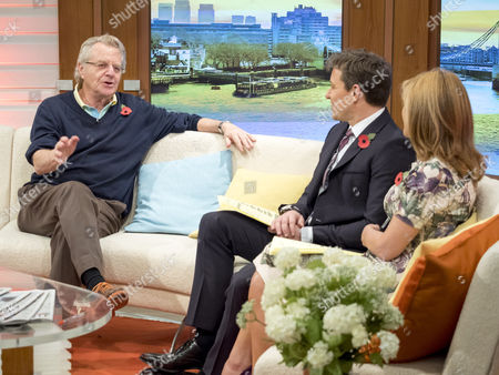 Jerry Springer with Ben Shephard and Kate Garraway