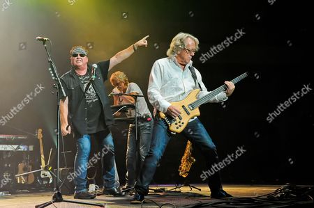 (L-R) Mike Reno, Doug Johnson and Ken Sinnaeve of Loverboy