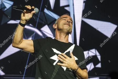 Editorial picture of Eros Ramazotti in concert, Brussels, Belgium - 26 Oct 2015