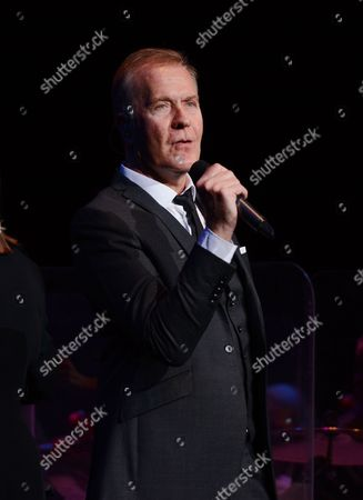 Stock Photo of Martin Fry, ABC performing the album 'The Lexicon of Love' with The Southbank Sinfonia Orchestra conducted by Anne Dudley