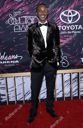 Editorial picture of 2015 Soul Train Awards, Las Vegas, America - 06 Nov 2015
