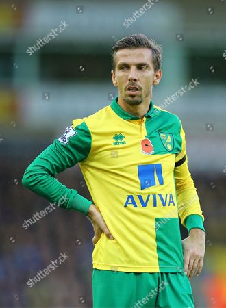 Gary O'Neil of Norwich City - Norwich City v Swansea City, Barclays Premier League, Carrow Road, Norwich. 07.11.15.