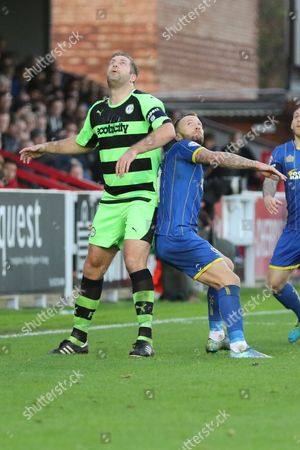 Editorial photo of AFC Wimbledon v Forest Green Rovers, The Emirates FA Cup - 4 Nov 2015