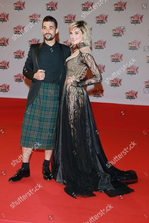 Florent Mothe and Camille Lou