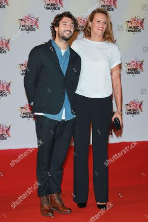 Jeremy Frerot and Laure Manaudou