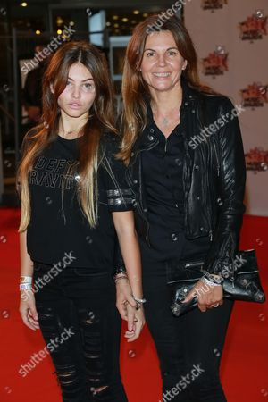 Stock Picture of Veronika Loubry and her daughter Thylane Blondeau