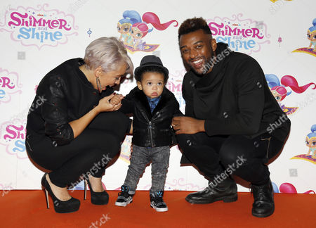 Aimee Jade and Oritse Williams with Omre