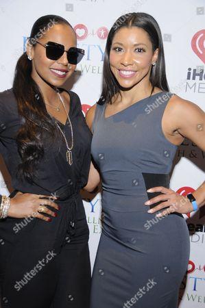 Ashanti and Jeanette Jenkins