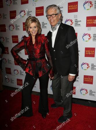 Jane Fonda and Richard Perry