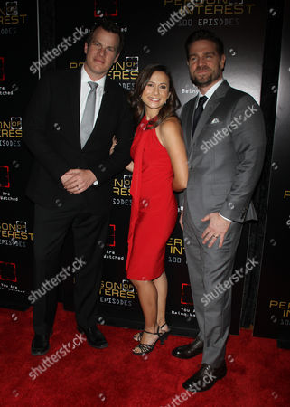Editorial photo of 'Person of Interest' 100th Episode Party, New York, America - 07 Nov 2015