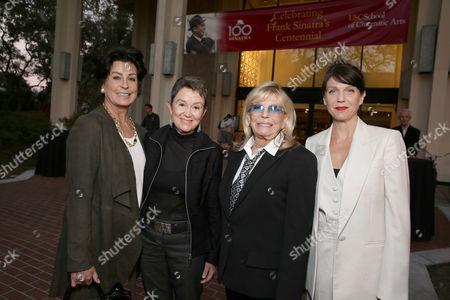 Tina Sinatra, Elizabeth M. Daley, Nancy Sinatra, AJ Lambert