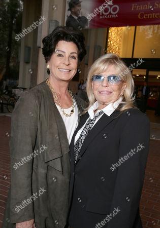 Stock Photo of Tina Sinatra, Nancy Sinatra