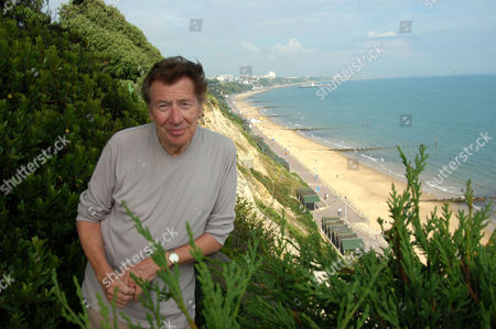 Max Bygraves at his home in Bournemouth