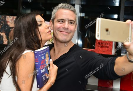 Andy Cohen and Adriana De Moura